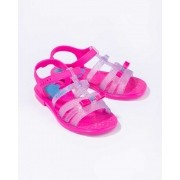 Sandália Barbie Pink Grendene Kids 22166 Carro Conversível Brinde