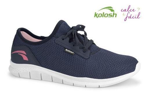 Tênis Casual Feminino Kolosh Racer Marinho - Ref.: K8681