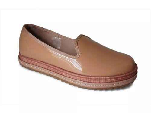 Sapato feminino Beira Rio Turim Nude Verniz 4196.200 Anúncio com variação