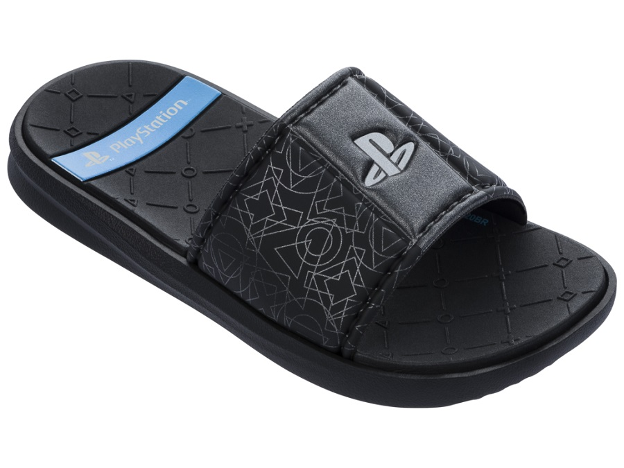 Chinelo Slider Grendene Kids Playstation Icons Gaspea TW 22365