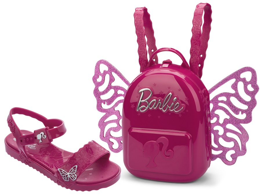 Sandália Grendene Kids Barbie Butterfly Infantil 22370