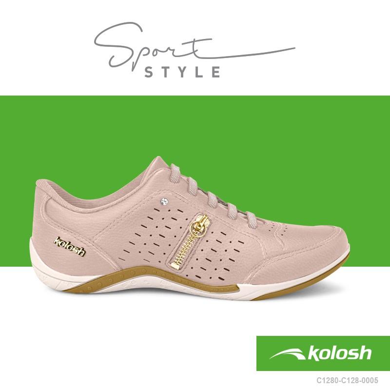 Sapatênis Feminino Kolosh Casual Sport Style C1287Q
