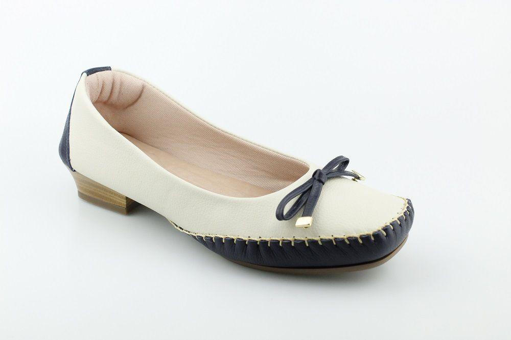 Sapatilha Feminina Brand Shoes Couro Confort 1824