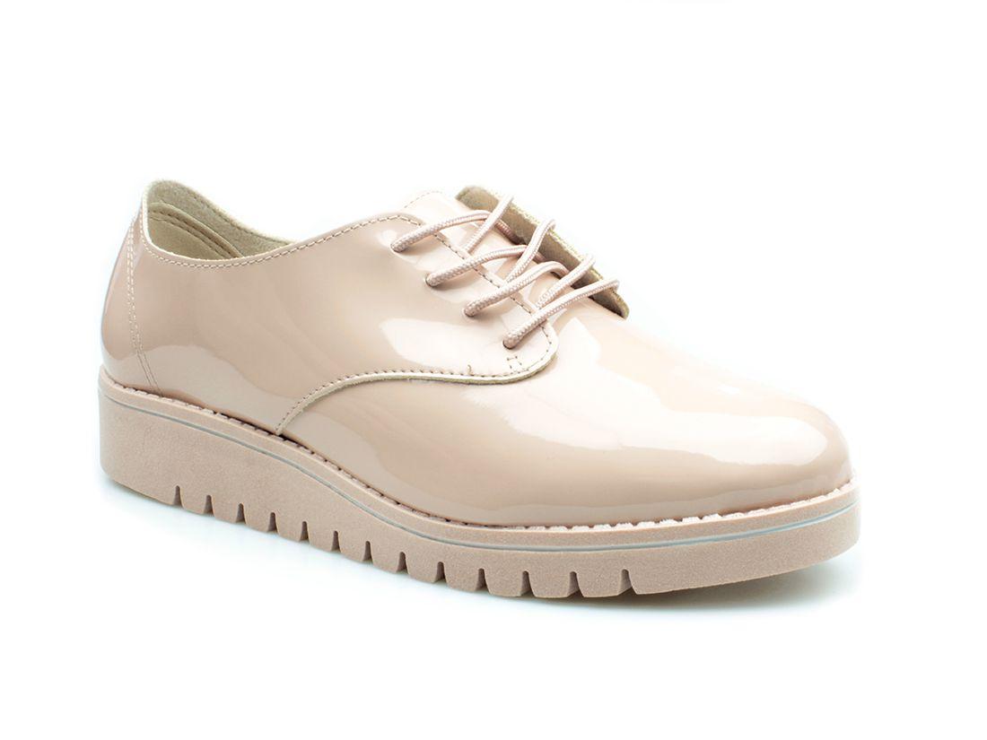 Sapato feminino Beira Rio Conforto Rosa Verniz 4174.419