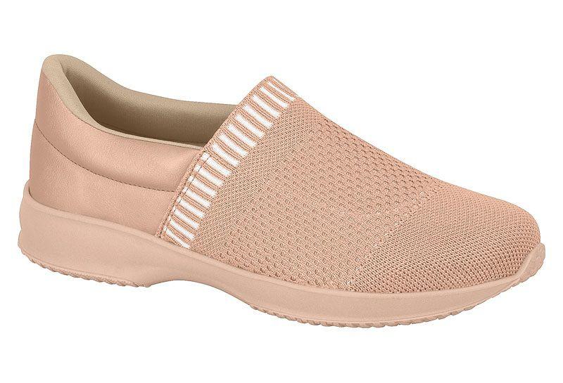 Sapato Casual Feminino Modare Linho Linear Verniz Premium Multi Rosa 7321.110