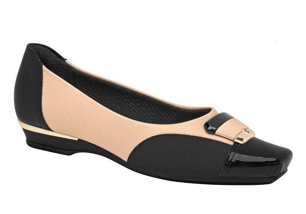 Sapato Feminino Piccadilly Maxi Salto Baixo 147162