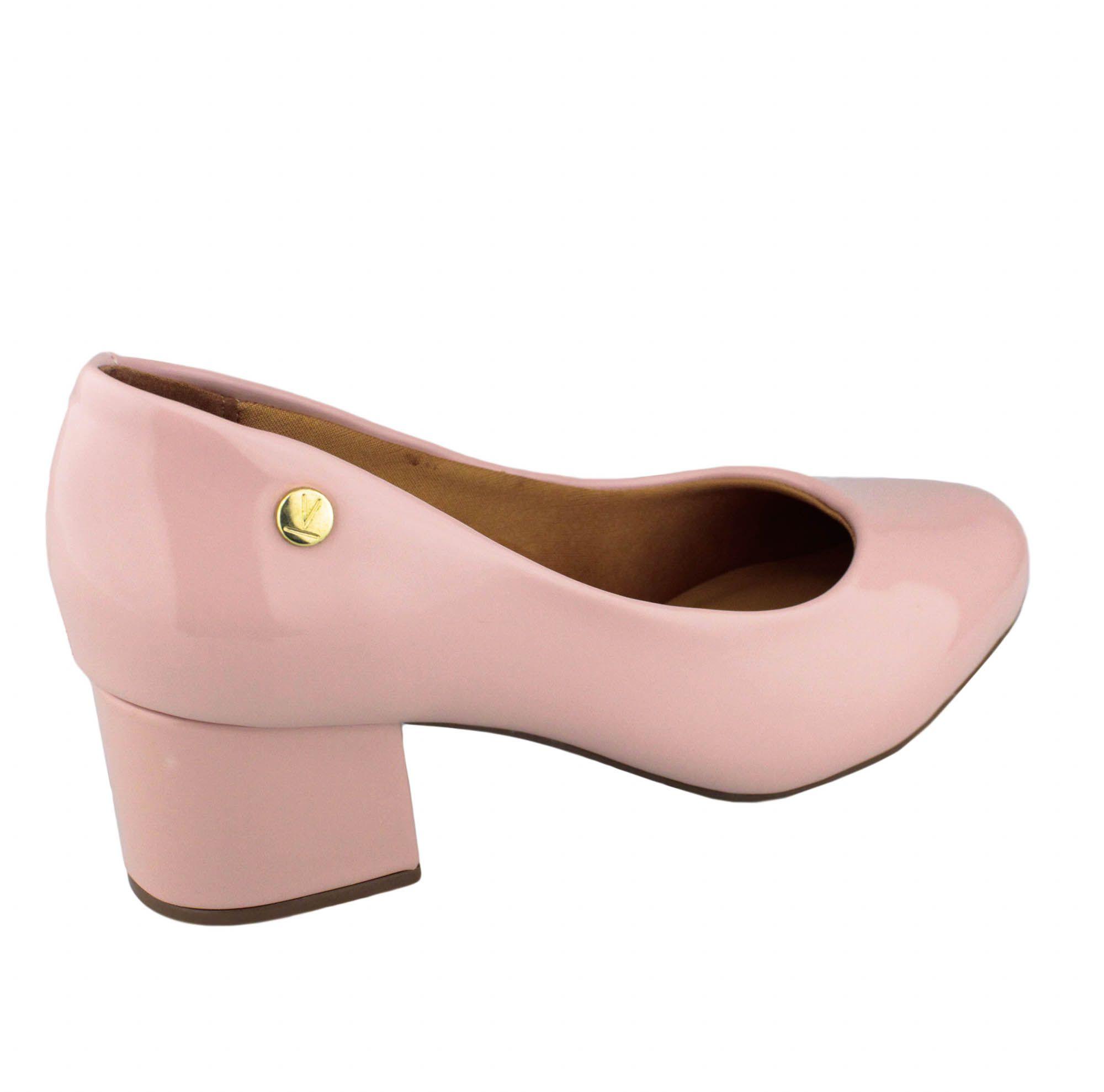 Sapato Feminino Vizzano Rosa Verniz Premium 1258.100