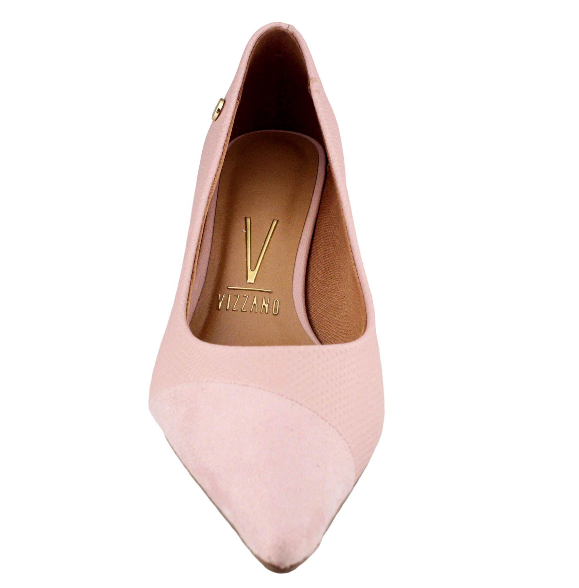Sapato Feminino Vizzano Scarpin Rosa Pelica - 1122.654