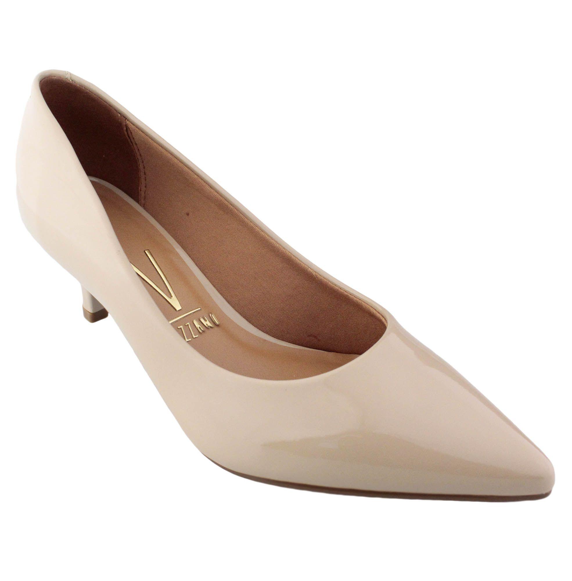 Sapato Feminino Vizzano Scarpin Salto Fino Verniz - 1122.600