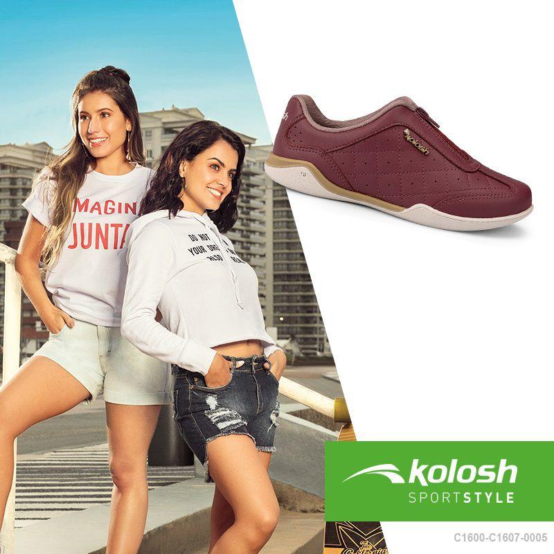 Tênis Feminino Casual Kolosh C1607