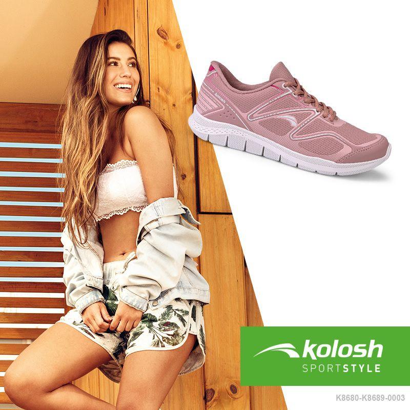 Tênis Feminino Esportivo Kolosh K8689