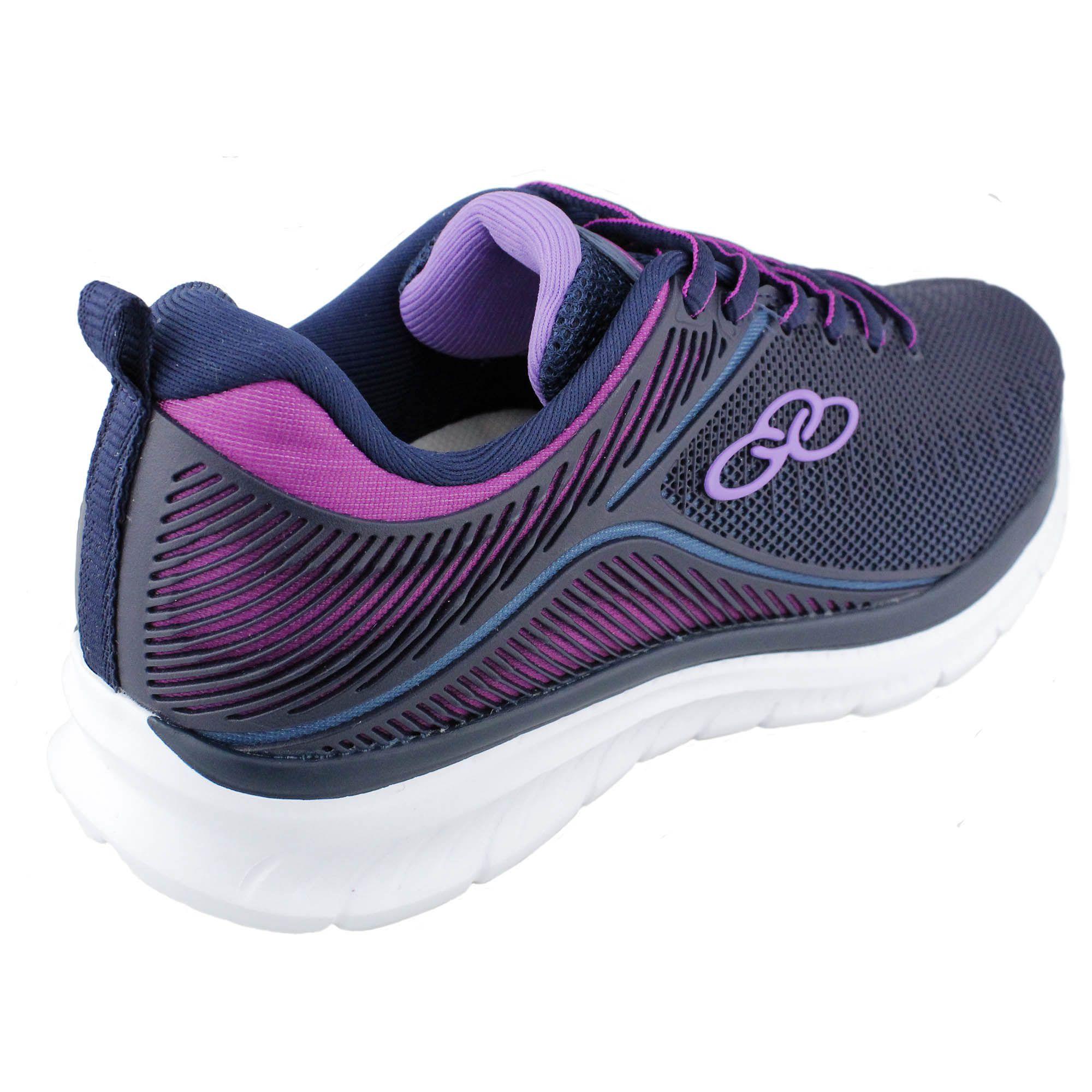 Tenis Feminino Olympikus Quantum Marinho Pink
