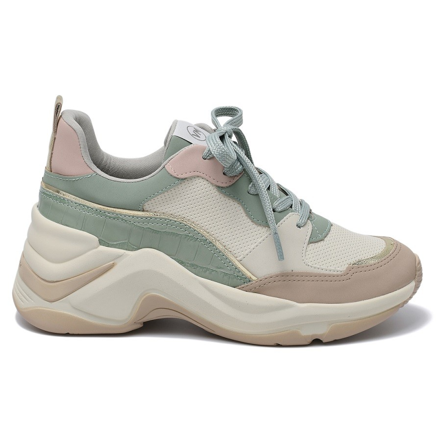 Tênis Sneaker Feminino Via Marte Chunky 20-14634