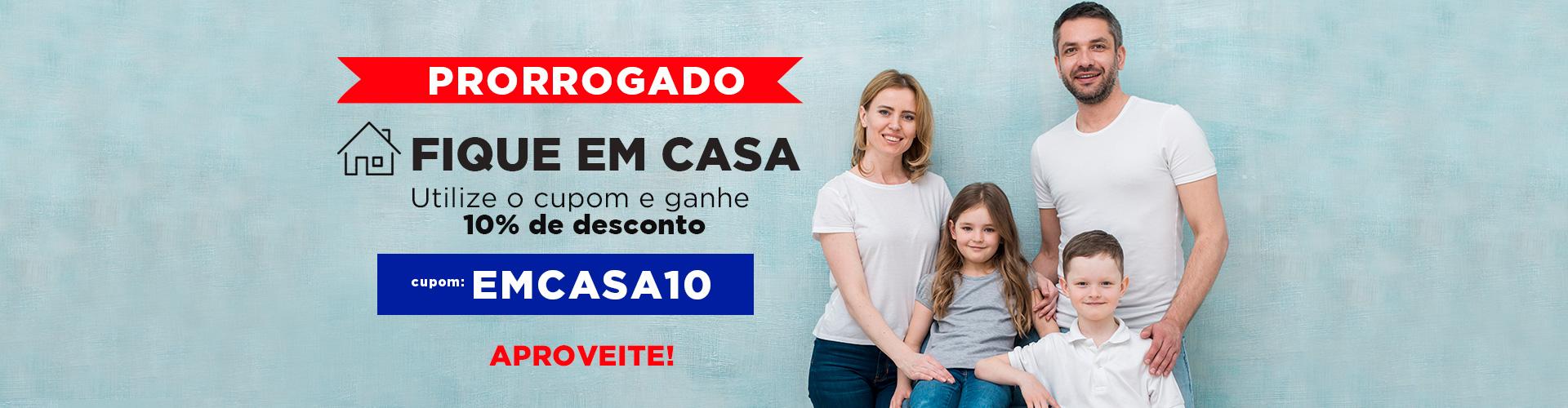 cupom emcasa10 prorrogado