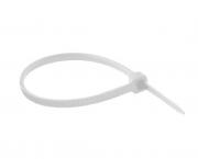 Abraçadeira nylon 280x3,6mm, cor branca, pacote 100unidades