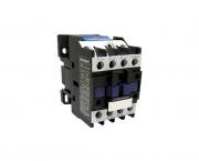 Contator eletromagnético AC, 9A/24Vac