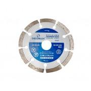 Disco de corte diamantado, segmentado, 110x20mm, (1un.)