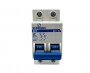 Mini disjuntor bipolar 20A 230-400V