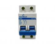Mini disjuntor bipolar 50A 230-400V