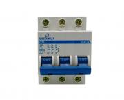 Mini disjuntor tripolar 10A 230-400V