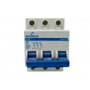 Mini disjuntor tripolar 16A 230-400V, (1un.)