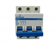 Mini disjuntor tripolar 16A 230-400V