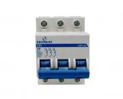 Mini disjuntor tripolar 63A 230-400V