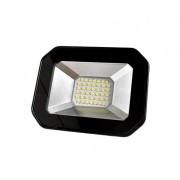 Refletor DecorLED Super LED, 100 240V 30W luz branca, cor preto, (1un.)