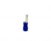 Terminal pino pré isolado 40,0mm 16,0mm 68A, cor azul, pacote 50 unidades
