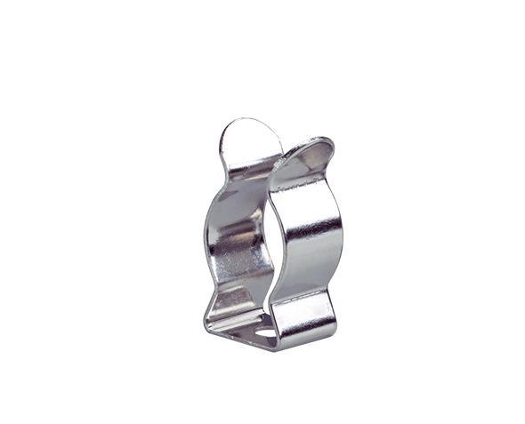 Abraçadeira de aço para lâmpada tubular 12,5mm T5, (pacote 100un.)