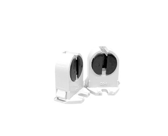 Base G5 para lâmpada tubular, 2A, 0-250V, tipo giratório, (pacote 50un.)