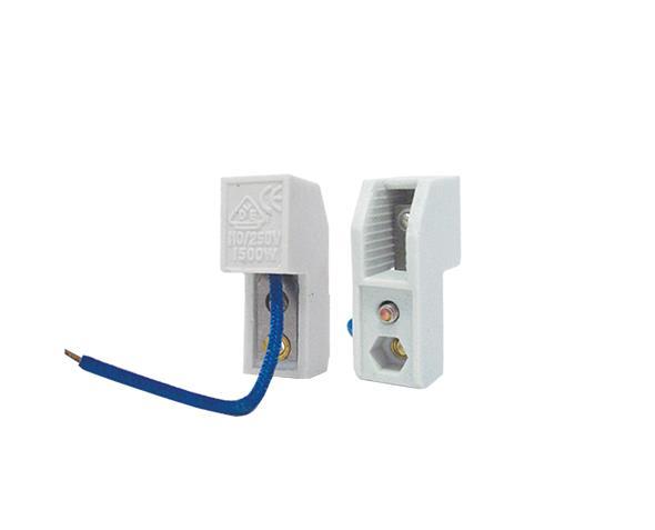 Base R7s para lâmpada halógena, 1000W-10A/250V, sem suporte, caixa com 80 unidades