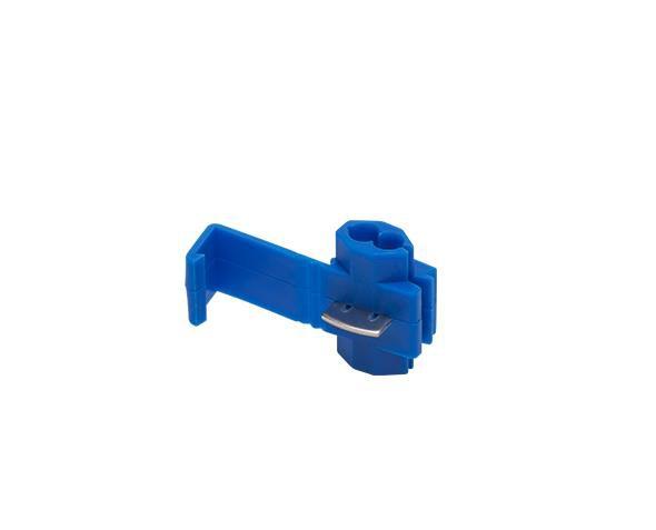 Conector de Derivação 1,5 2,5mm, Azul Pcte 50und