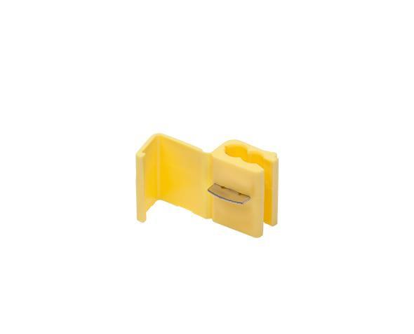 Conector de Derivação 4 6mm, Amarelo Pcte 50und