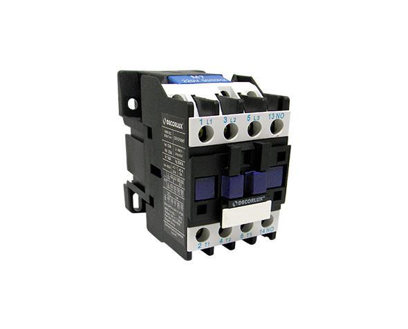 Contator eletromagnético AC, 12A/24Vac