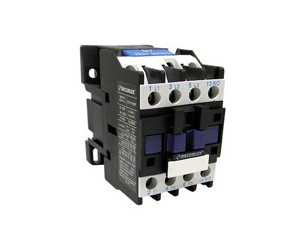 Contator eletromagnético AC, 18A, 24Vac, (1un.)