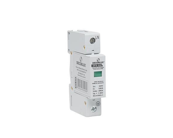 Dispositivo de proteção contra surto 20kA, (1un.)