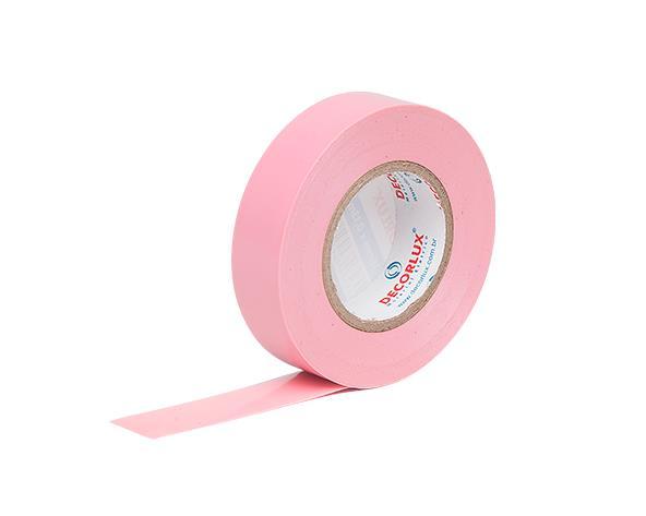 Fita Isolante 18mmx20m cor Pink (Tubo 10un.)