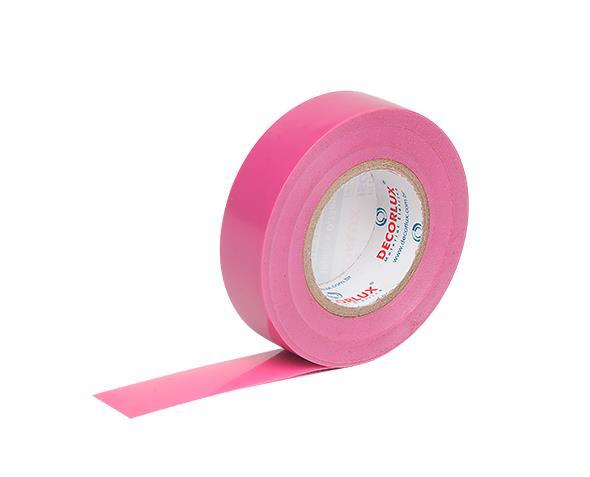 Fita Isolante 18mmx20m cor Rosa (Tubo 10un.)