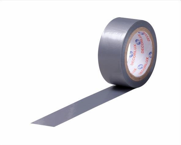 Fita isolante 18mmx5m cor cinza, tubo (10un.)