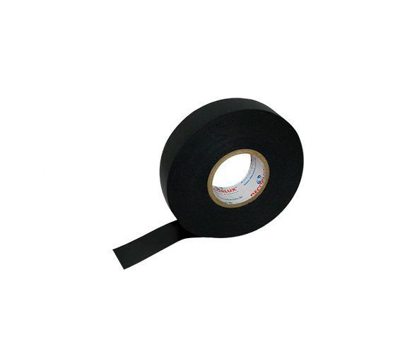 Fita isolante auto fusão 0,76mm x 19mm x 2m, cor preto,(10un.)