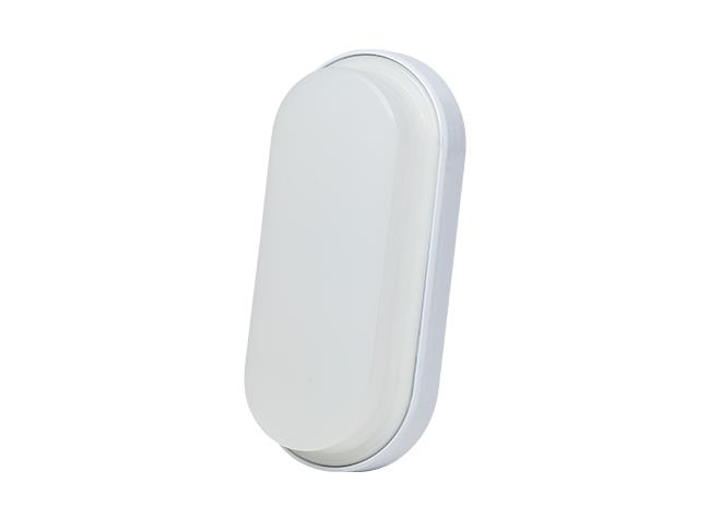 Luminária LED Parede Oval 100 240V 6W 6000K Branco, Cx 1und, (1un.)