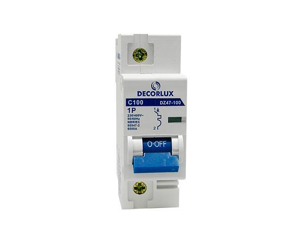 Mini disjuntor monopolar 100A 230-400V