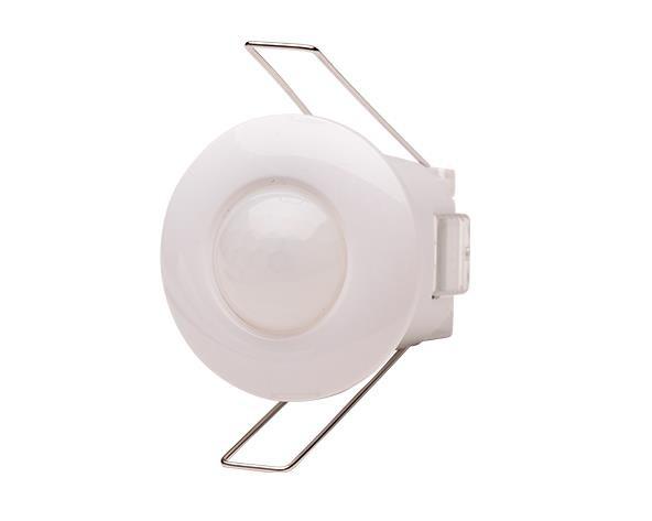Sensor de Presenca de Teto Embutir, alcance até 6m, 240V branco, (1un.)