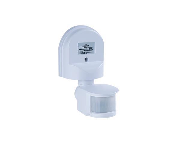 Sensor de presenca Externo 12m 100-240V, cor branco, (1un.)