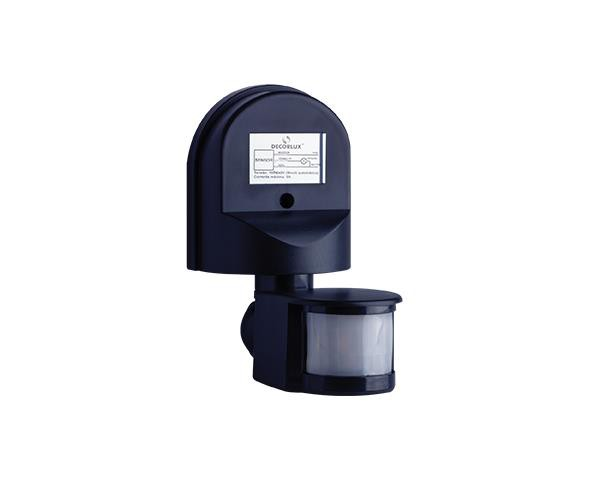 Sensor de presenca Externo 12m 100 240V, cor preto, (1un.)