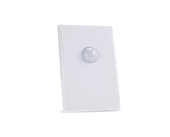 Sensor de presenca sem chave 9m 4x2 100 240V, cor branco, (1un.)