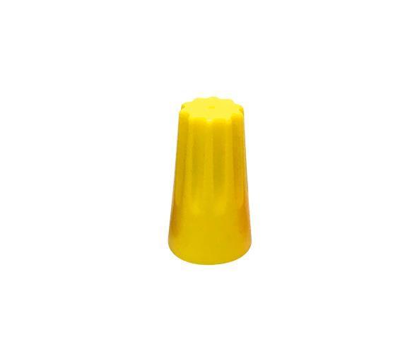 Terminal conector torção 3x2,5mm, cor amarelo (pacote 50un.)