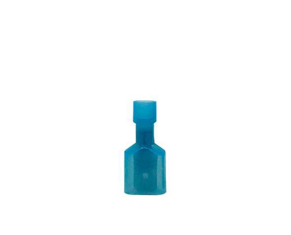 Terminal macho isolado 1,5-2,5mm 15A, cor azul, (pacote 50un.)