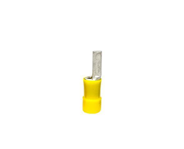Terminal pino pré isolado 41,0mm 25,0mm 89A, cor amarelo, (pacote 50un.)